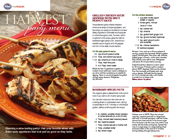 Kroger magazinefall party recipes bryn mooth llc kroger magazinefall party recipes forumfinder Choice Image